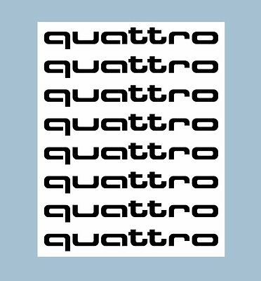 audi s line rs quattro tuning aufkleber sticker decal set. Black Bedroom Furniture Sets. Home Design Ideas