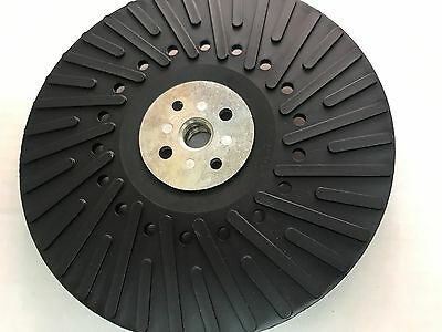 """1 Keen #54069, 7"""" x 5/8""""-11 Firm Cooling ribs Backup Pad For fibre sanding disc"""