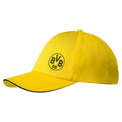 Puma Dortmund FC 2017/18 Official Supporters Football Cap Hat Yellow