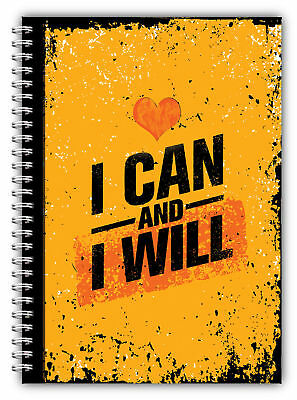 Diet Diary Slimming Tracker Food Diary Weight Loss A5 Journal I Can & I Will