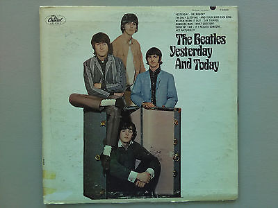 The Beatles Yesterday and Today - RARE HIFI trunk cover lp