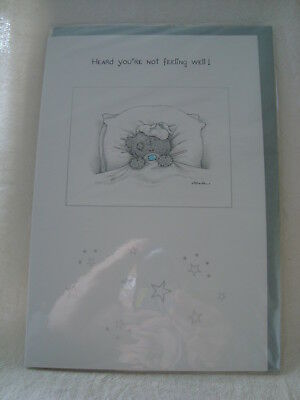 Me to You Greetings Card - Heard You're Not Feeling Well