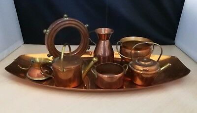 Vintage Collection Of Copper Ornaments