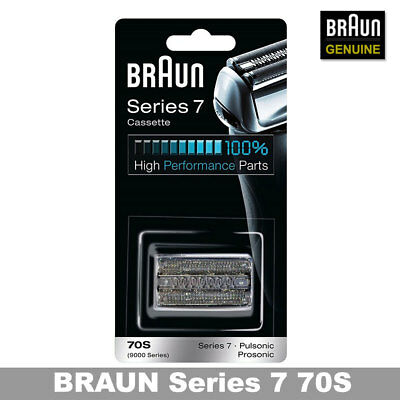 Braun 70S Series7 Cassette (9000 Series)series7 pulsonic (with tracking number)