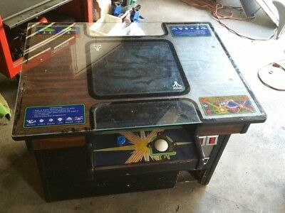 Project centipede arcade game cocktail table