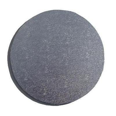 "Silver Round 6"" MDF Cake Board - cake decorating"