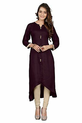 Indian Bollywood Style Kurtis Made From Pure Cotton Best Fitting All Sizes-23