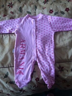Armani Baby Gro 3-6 Months. Never worn.