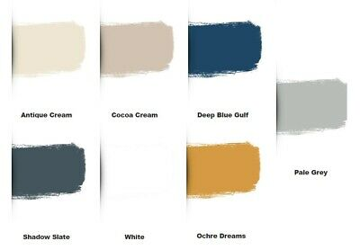 Johnstones Revive Cupboard Paint 750ml Full range of 6 colours available