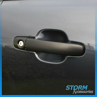 Protective Black Door Handle Covers STX L200 SERIES 5 2015 ON Pair