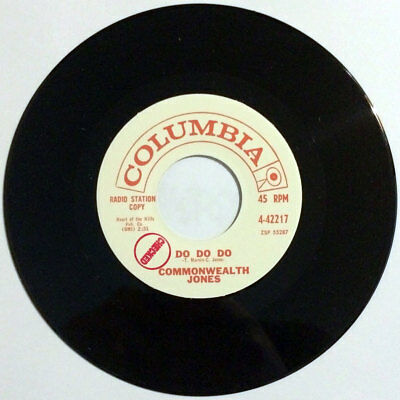 "Commonwealth Jones (Ronnie Dawson) - Do Do Do / Who's Been Here 7"" rockabilly RE"
