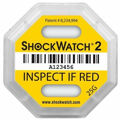 ShockWatch 2 - 25G, 10 Pack