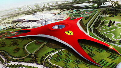 ** Ferrari World BOGOF - Entertainer Abu Dhabi / Dubai 2017 E Voucher