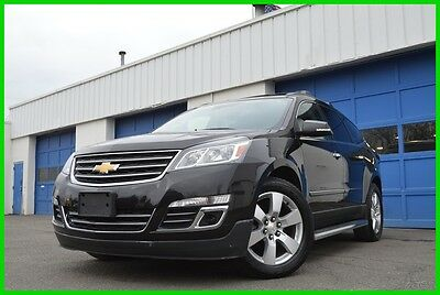 2014 Chevrolet Traverse LTZ AWD 4WD Warranty 34,000 Mls Bluetooth Loaded Leather Heated Cooled Seats Nav Rear Cam Double Moonroof Collision Avoidance Sys