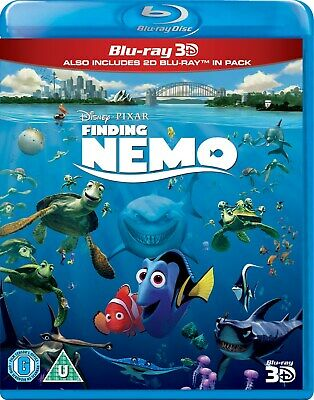 Finding Nemo (3D Edition with 2D Edition) [Blu-ray]