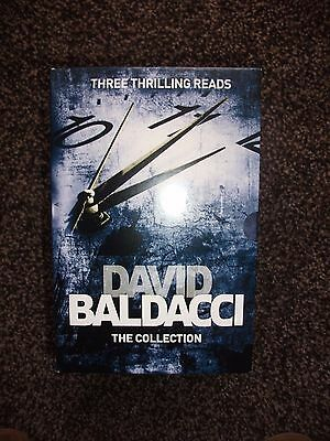 Collection of 3 David Baldacci Books - Brand New
