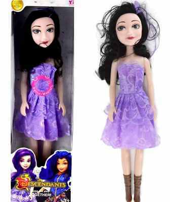"18"" Large Descendants  Mal Singing Princess Doll Action Figure Girls Toy Gift UK"