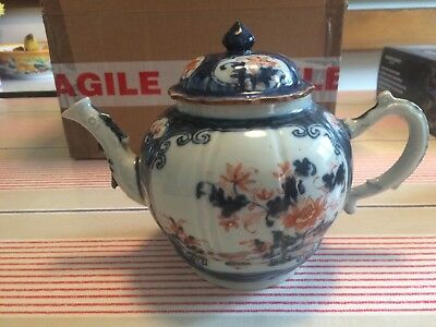 C18th Chinese? Oriental Export Teapot