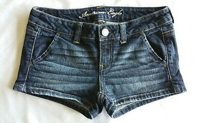 NEW! Women's AMERICAN EAGLE Stretch Jean Shorts Size 0