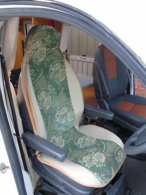 To Fit Peugeot Boxer Motorhome, Seat Covers, Sample 13