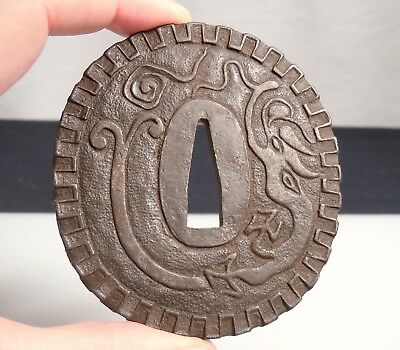Antique Japanese Sword Tsuba