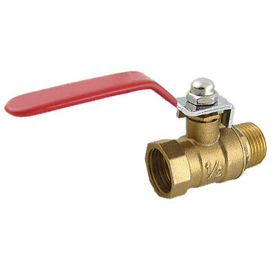 "PF Male to Female M/F Thread 1/2"" Full Port Brass Water Ball Valve"