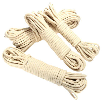 PF 20M Multi-function Traditional Washing Clothes Pulley Line Rope Dia. 4mm