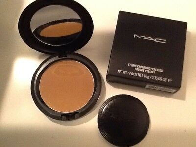 NEU! MAC Studio Careblend / Pressed Powder Puder - Dark