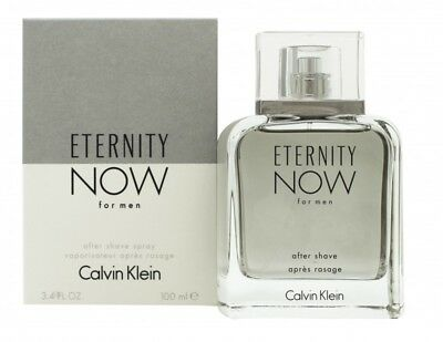 Calvin Klein Eternity Now For Men Aftershave 100Ml Spray - Men's For Him. New