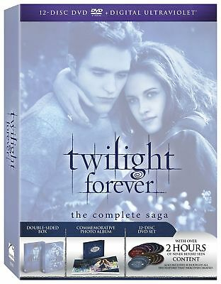 NEW The Twilight Saga: The Complete Collection (DVD, 2013, 12-Disc Set)