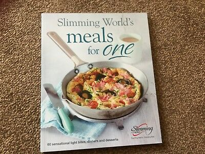 slimming world Meals For One  recipe cook book