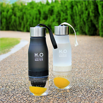 650ml Fruit Infuser Water Bottle/ Infusionsflasche/Sportflasche BPA-Frei Gesund
