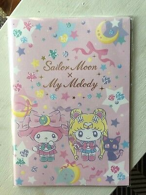 ~ * Sanrio Sailor Moon × My Melody Special Note Book Kawaii * ~ US SHIP +FAST