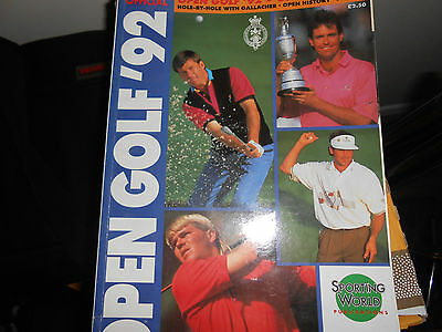 Golf The Open Official Magazine 1992