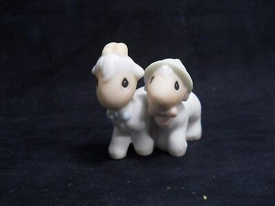 Enesco Precious Moments Two by Two- Noah's Ark Goats