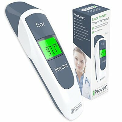 Digital Ear & Forehead Thermometer - iProven DMT-316 - FDA Approved, Accurate