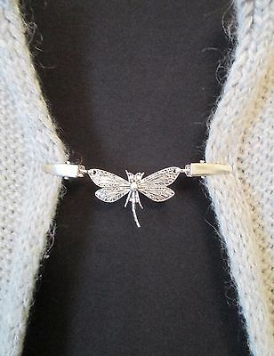 Cardigan, Sweater, Blouse, Shrug Clips/Clasps, Dragonfly