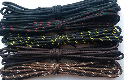 Hiking Boot Laces Walking Boots Laces Safety Shoes Round Strong Bootlaces