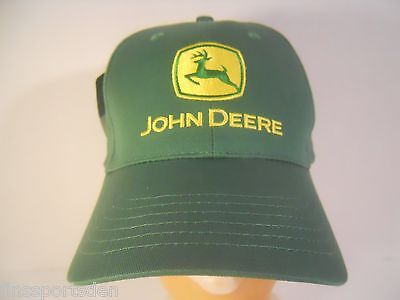 JOHN DEERE Advertising Hat ~ One Size Fits All Adjustable Baseball Cap ~ New #2