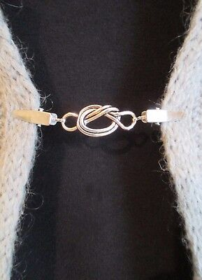 Cardigan, Sweater, Blouse Clips/Clasps, Lover's knot