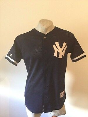 Maglia new york yankees majestic AUTHENTIC COLLECTION jacke jacket BOTTOM giacca