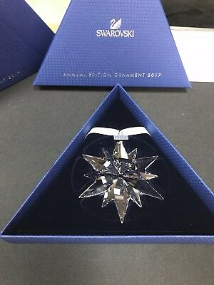 Swarovski Annual Edition  Item# 5257589 2017 Crystal Star Ornament