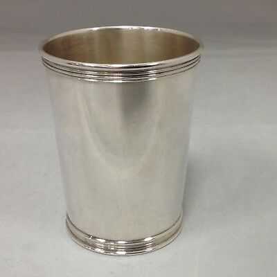 Solid Sterling Silver Mint Julep Cup Manchester 3759 Kentucky Derby Ready