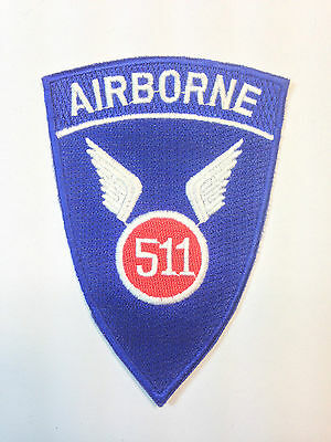 US 511th Airborne PATCH (NEW)