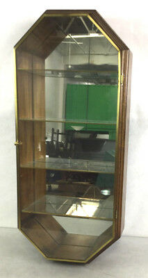Wooden Wall Mount Curio Display Case Lot 2021