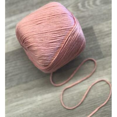 Dusty Pink Bamboo Cotton Cord per 10 metres