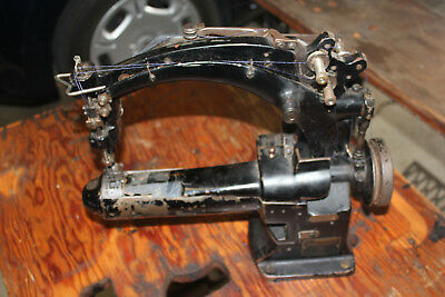 Vintage Union Special 19300 A Cover Stitch Industrial Sewing Machine