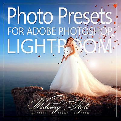 Photo Presets for Lightroom / Wedding Style