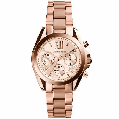 michael kors mk5799 bradshaw damen uhr chronograph rose. Black Bedroom Furniture Sets. Home Design Ideas