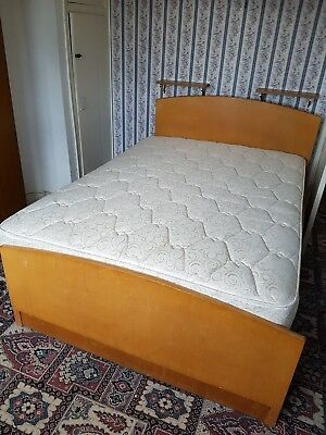 Vintage Double Bed and Mattress